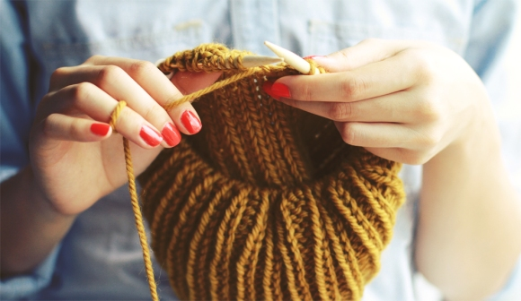 knitting-hands